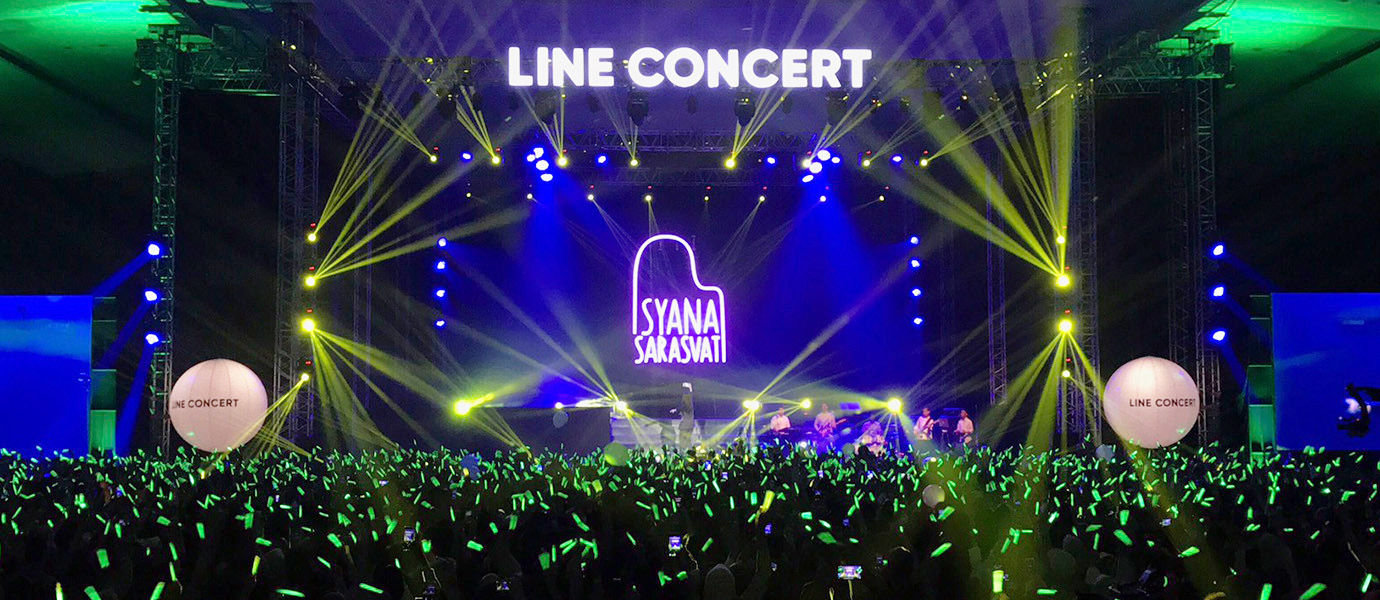 Gokil! Inilah Keseruan LINE Concert 2017 yang Sukses Meriahkan Surabaya
