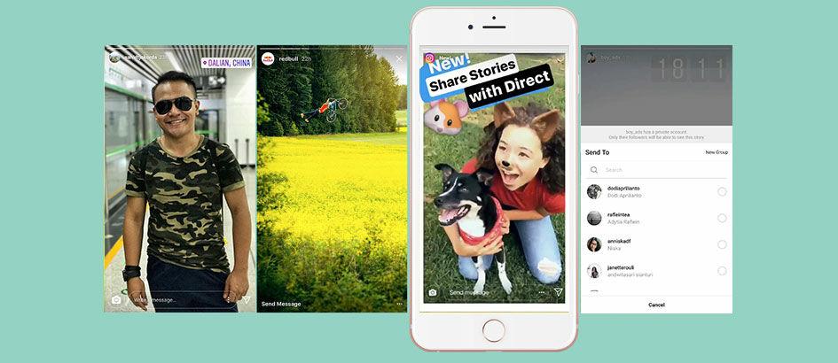 Asyik, Instagram Stories Bisa Dikirim Lewat Chat ke Teman!