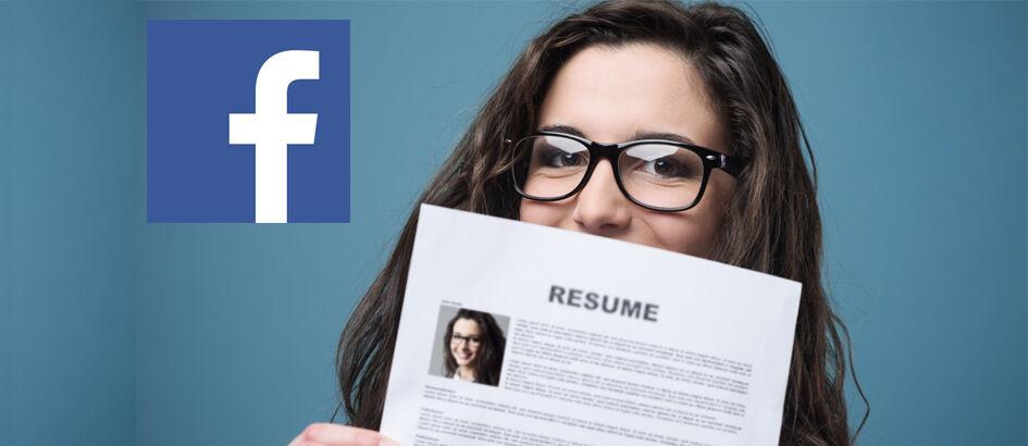 Rajin Main Facebook Bikin Cepat Dapat Kerja, Kok Bisa?