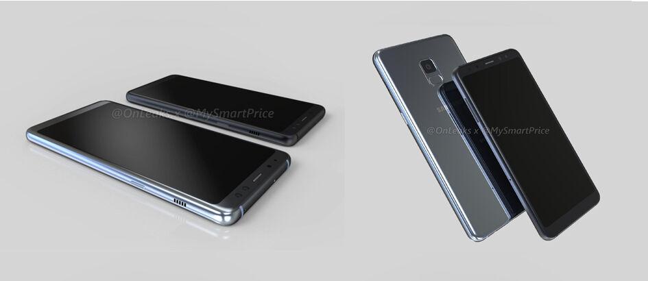 Bocoran Samsung Galaxy A5 dan A7 (2018), Kakak Beradik dengan Dual Selfie Camera