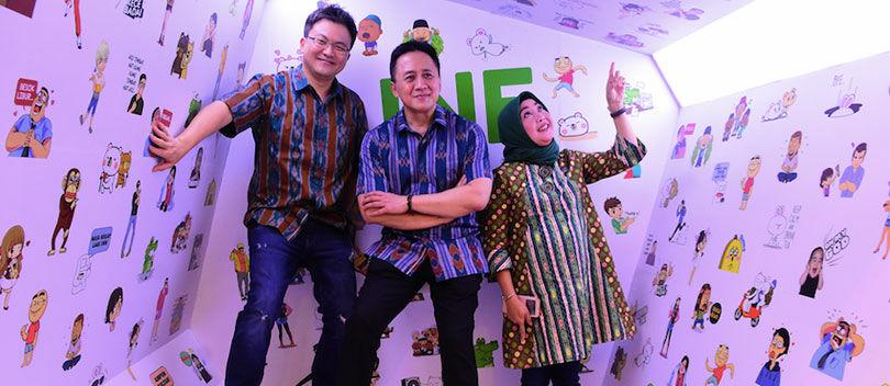 Bikin Bangga! 17.000 Karya Kreatif Digital Indonesia Sukses Diwadahi LINE Creativate 2017