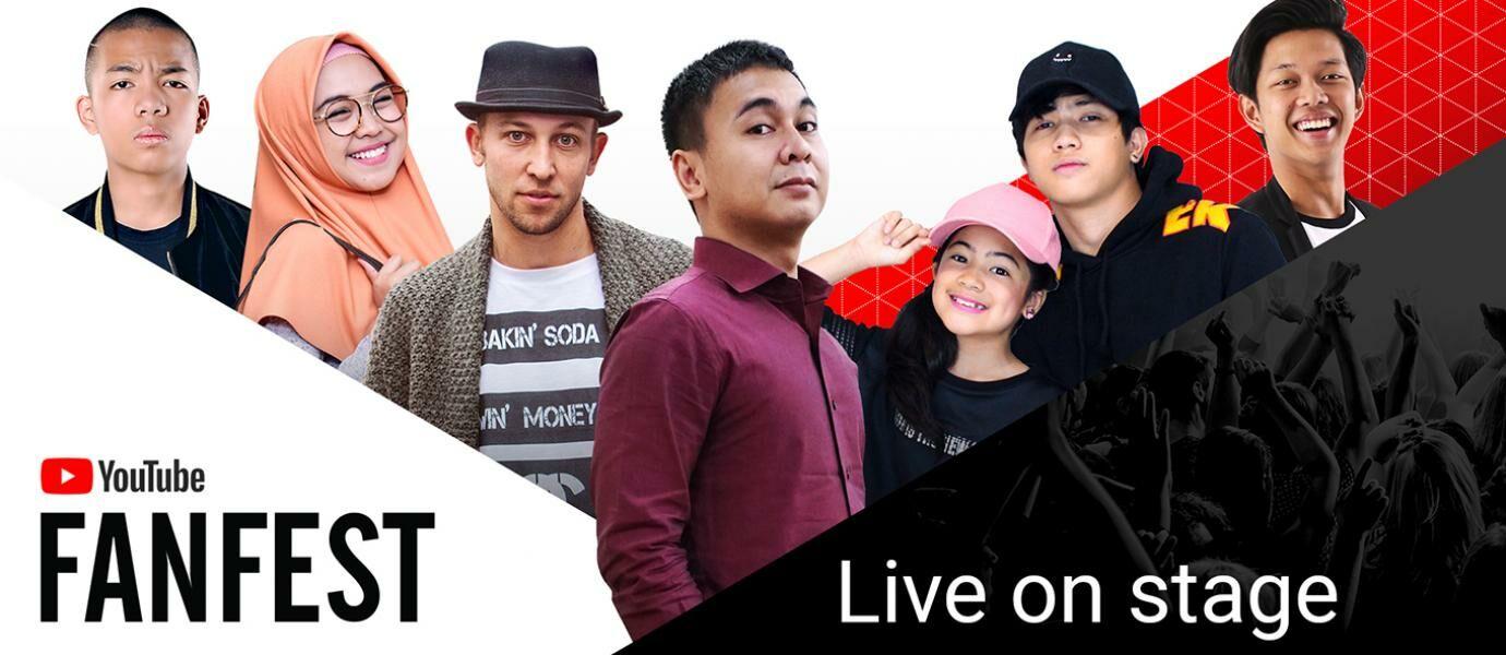 Gratis 10 Tiket YouTube FanFest 2017 dari JalanTikus! Masuk Yuk!