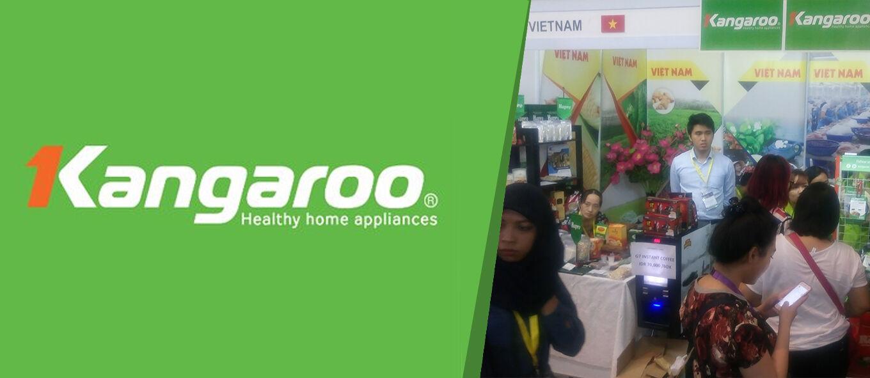 Kangaroo Indonesia Tawarkan Peralatan Rumah Tangga Sehat di SIAL Interfood 2017