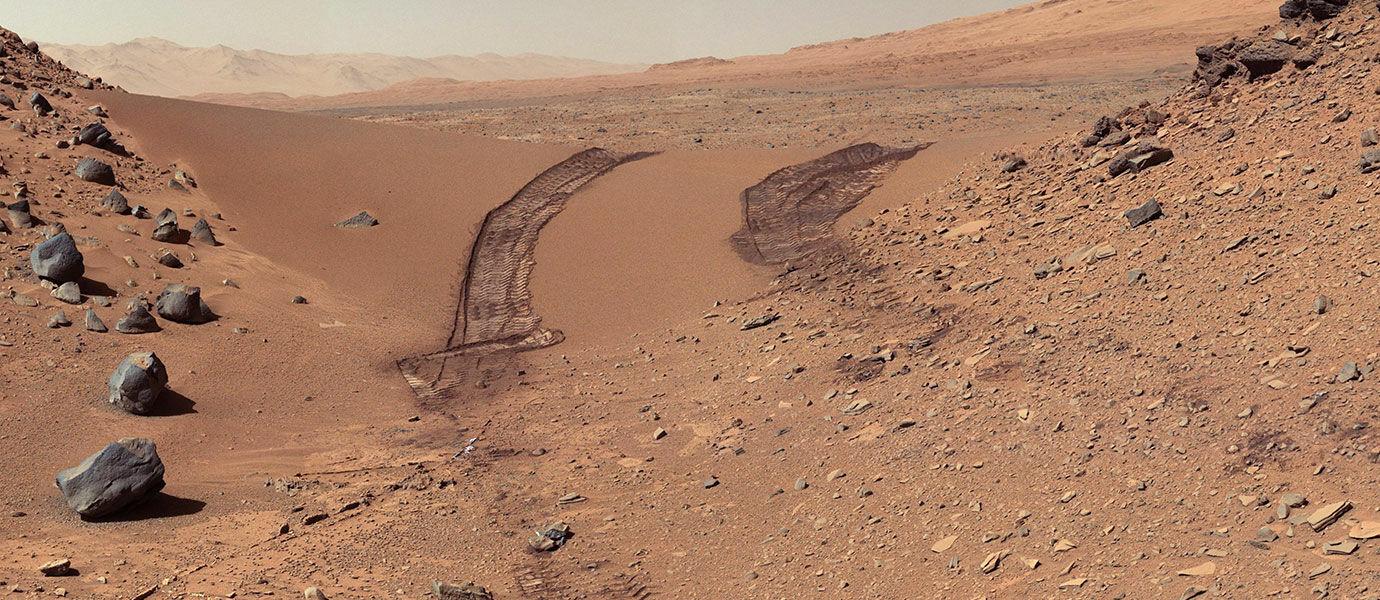 5 Foto Misterius di Planet Mars Ditemukan Dalam Penjelajahan Curiosity