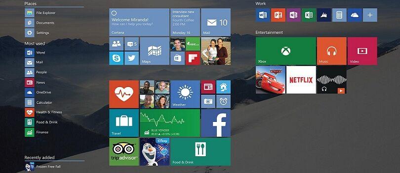 Cara Mengatasi Menu Start Windows 10 Yang Stuck di Fullscreen