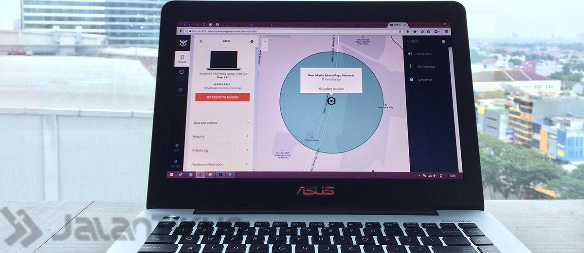 Cara Mudah Melacak Laptop yang Hilang atau Dicuri