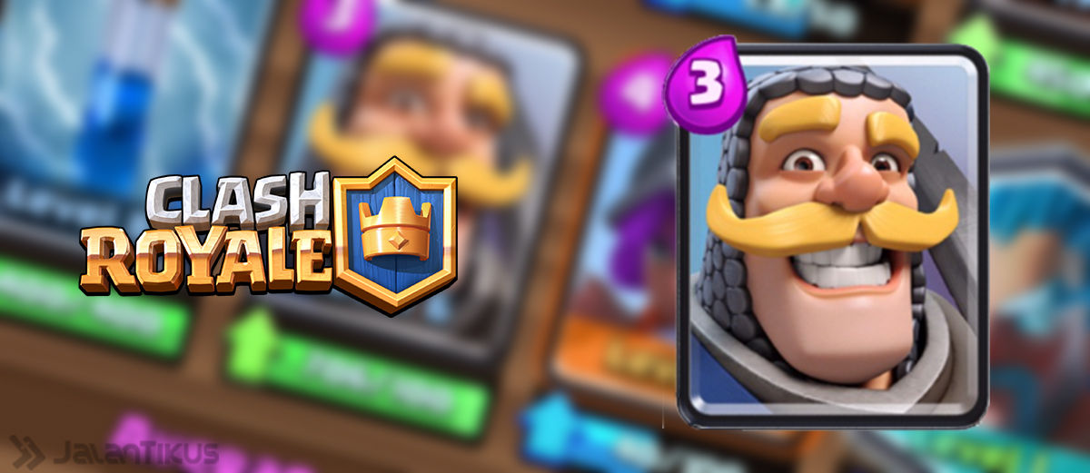 Kombinasi Battle Deck Knight Terbaik di Clash Royale