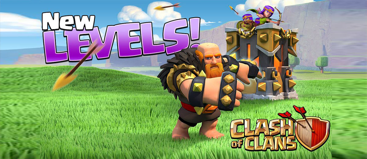 Update COC Juli 2016: Tambahan Level Giant dan Archer Tower