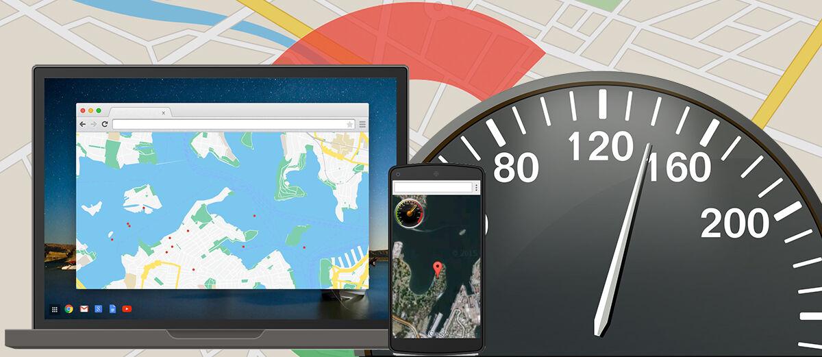 Cara Menampilkan Speedometer di Google Maps Android