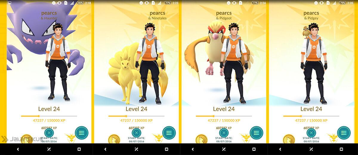Cara Menambah Teman Pokemon (Buddy) di Pokemon GO