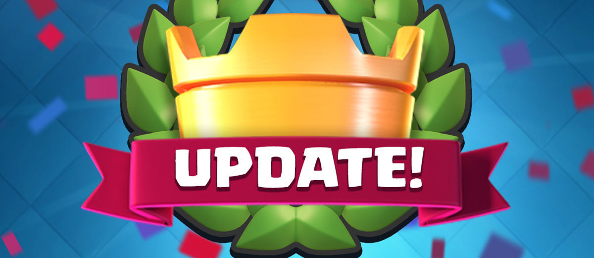 Update Clash Royale Versi 1.6.0 November 2016