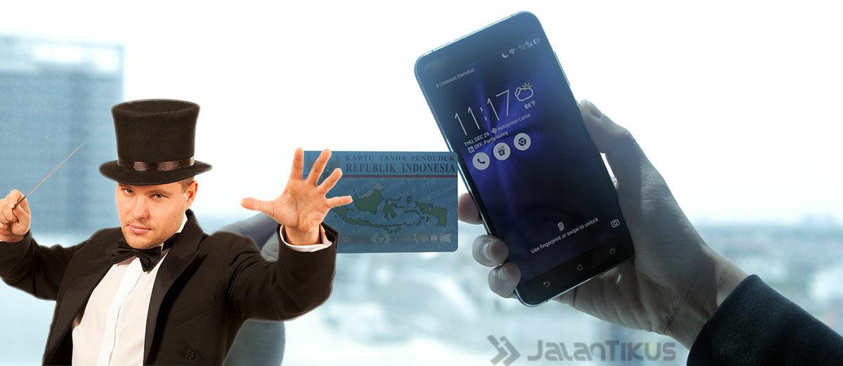 Canggih! Begini Cara Buka Lockscreen Android Pakai E-KTP