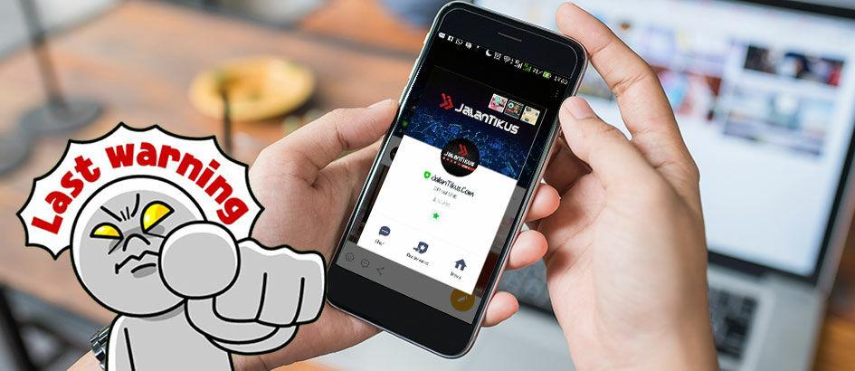 Rugi Kalo Gak Add Official Account LINE! Ini 5 Alasannya