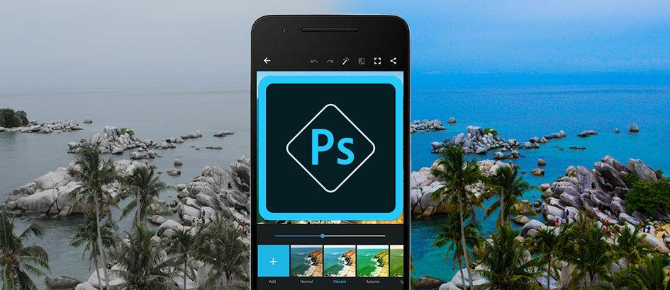 Inilah Cara Edit Foto Menakjubkan dengan Adobe Photoshop Express