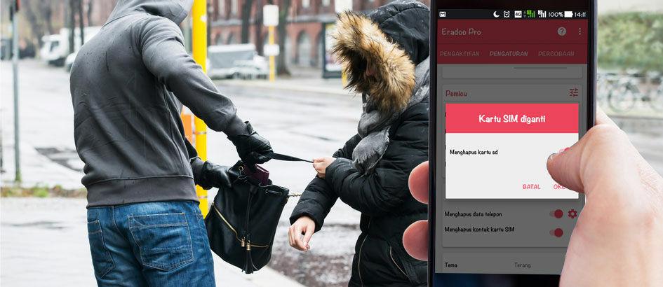 Cara Menghapus Data Otomatis Jika Smartphone Hilang atau Dicuri