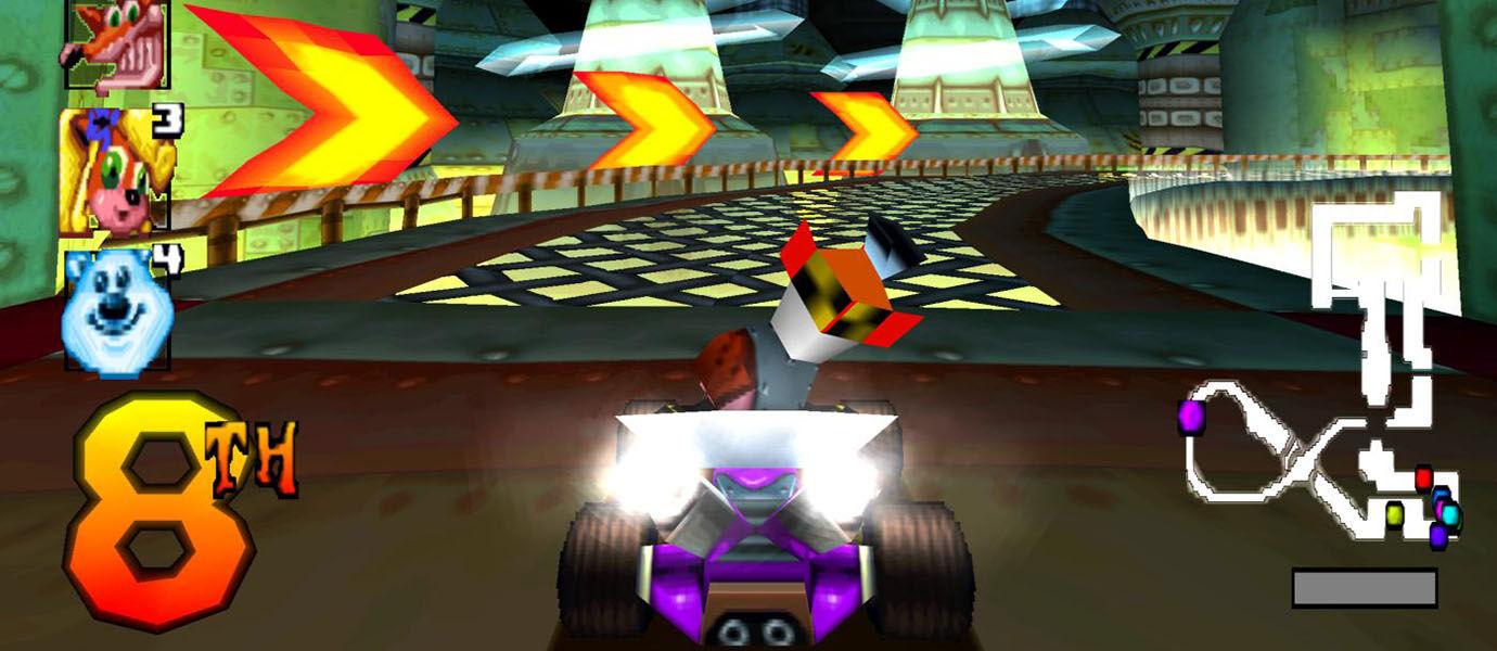 5 Game Balap Android Mirip Crash Team Racing (CTR)