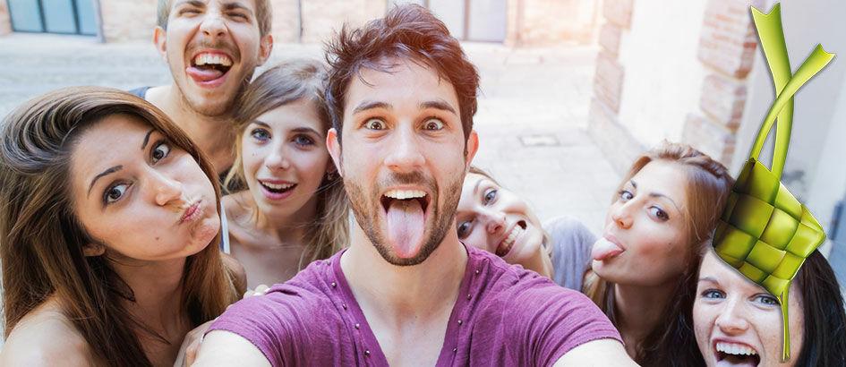 5 Tips Foto Selfie Rame-rame Untuk Abadikan Momen Lebaran