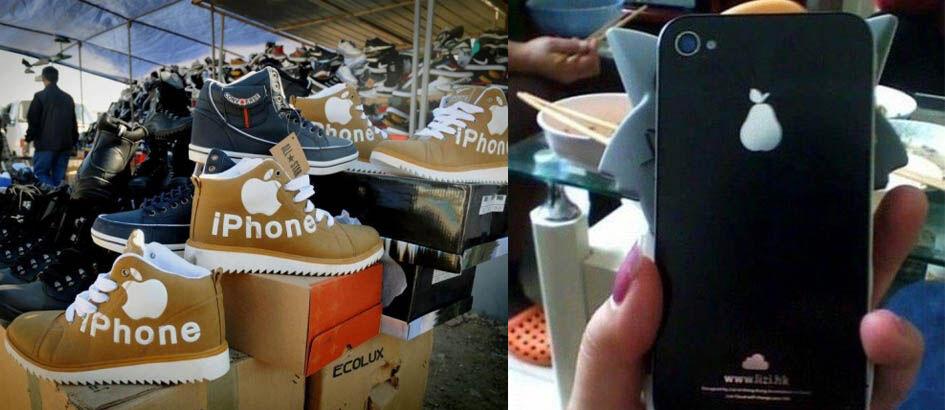 15 Brand Tiruan Ini Sukses Bikin Ngakak! Salah Satunya 'iPhone'