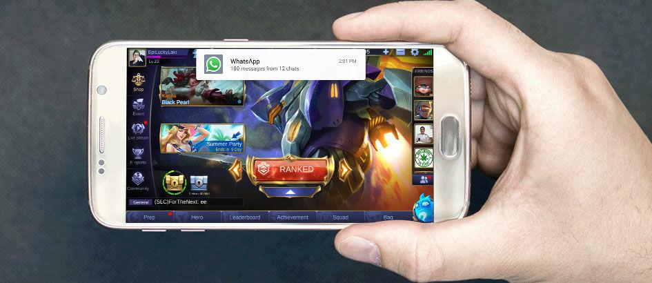 Cara Stop Notifikasi yang Mengganggu Saat Main Mobile Legends