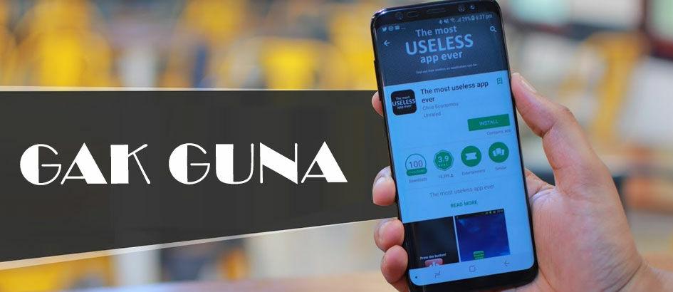10 Aplikasi Unik di Android yang Paling Gak Berguna