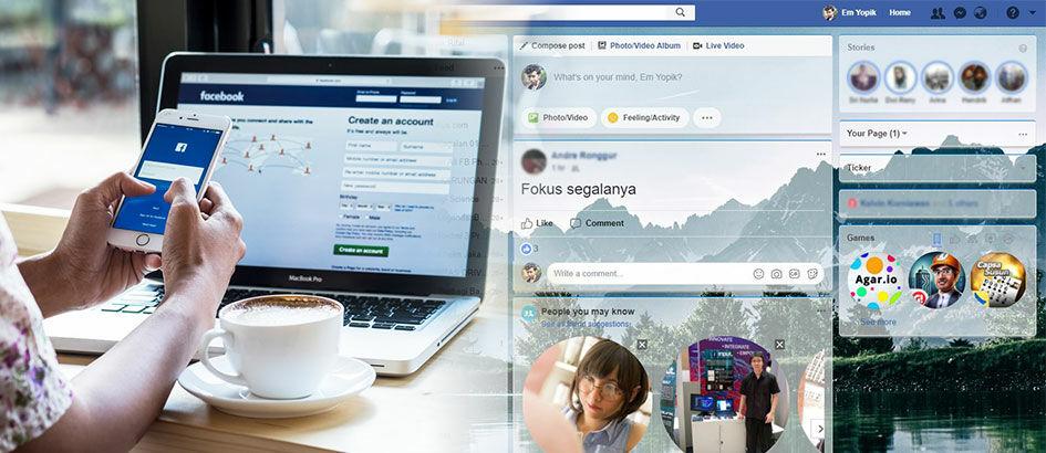 Cara Mengubah Tampilan Facebook dengan Tema Keren