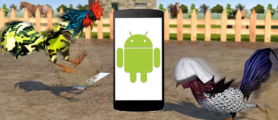 #StopKekerasanHewan Begini Cara Adu Ayam di Android