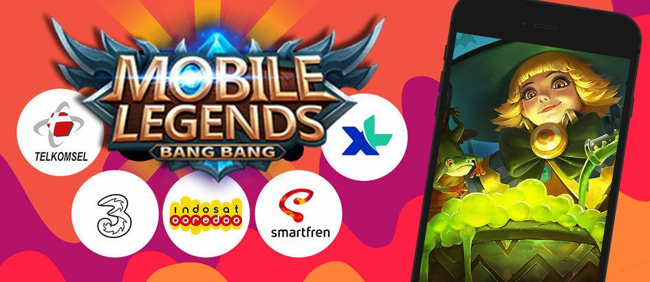 Cara Dapat Pulsa Gratis dengan Main Mobile Legends
