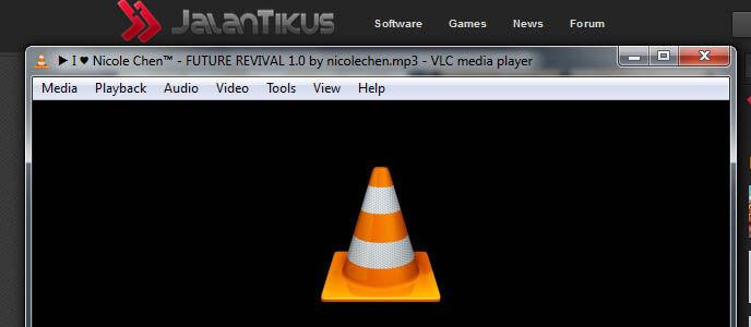 Cara membuat playlist di VLC