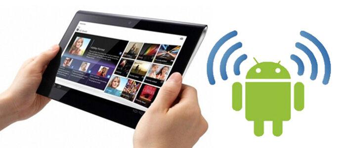 Mengaktifkan WI-FI Tethering Langsung Dari Homescreen