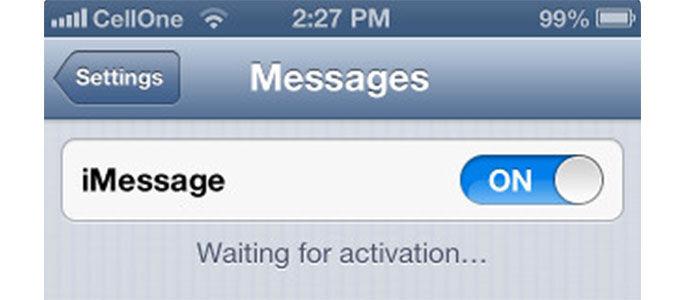 Solusi iMessage Error di iOS 7