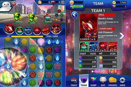 Bermain Dengan Baymax Di Game Big Hero 6 Bot Fight Team
