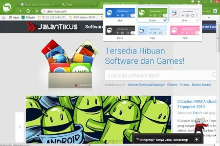 Review Baidu Spark Browser Dengan Chromium Engine 2