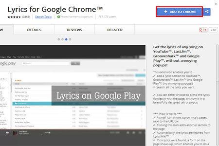 Cara Menampilkan Lirik Lagu Di Google Chrome 1