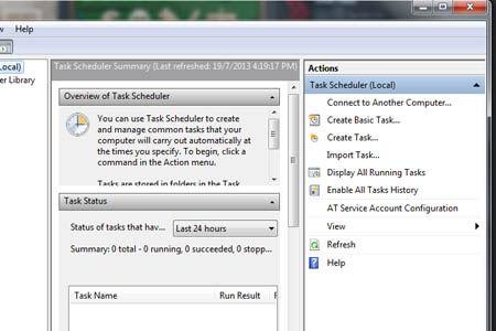 Cara Shutdown Otomatis Di Windows 7 2