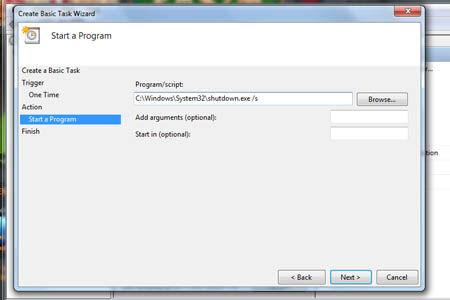 Cara Shutdown Otomatis Di Windows 7 7