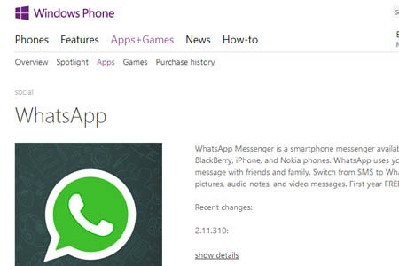 Update Terbaru Whatsapp For Windows Phone
