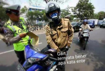 Meme Cirebon Kota Tilang 6