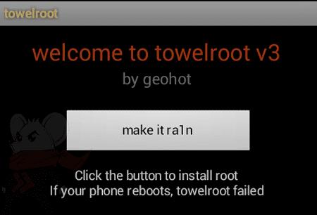 Root Dengan Towelroot