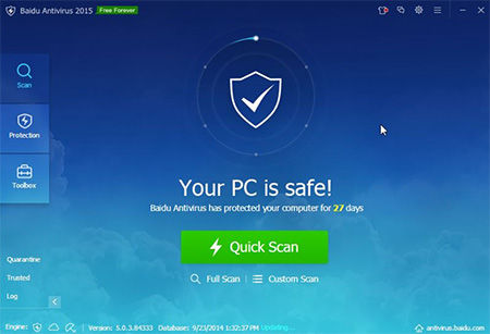 Fitur Baru Baidu Antivirus Versi 5