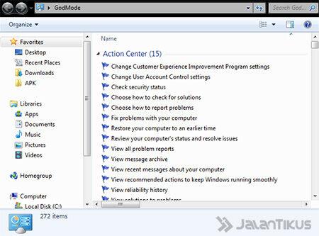 Cara Masuk Ke Windows 7 Godmode 3