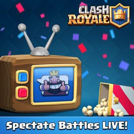 Update Clash Royale 3 Mei 2