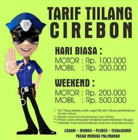 Meme Cirebon Kota Tilang 11