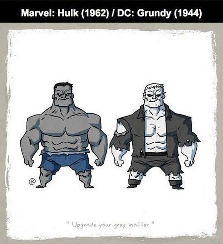 Karakter Ds Vs Marvel 14