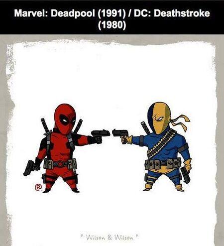 Karakter Ds Vs Marvel 4