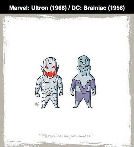 Karakter Ds Vs Marvel 1