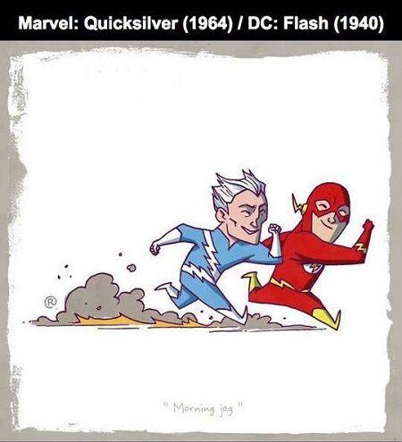 Karakter Ds Vs Marvel 8