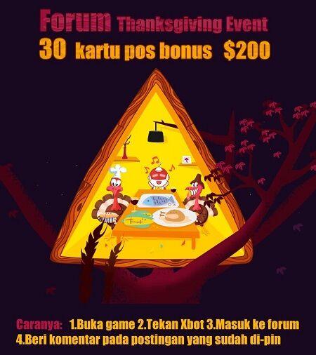 Thanksgiving Xmodgames 1