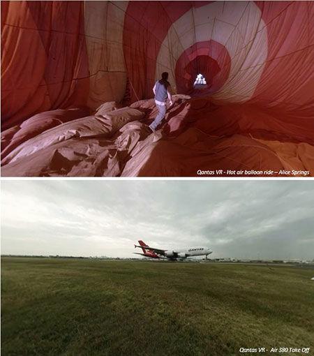 Ilustrasi Qantas Vr Experience