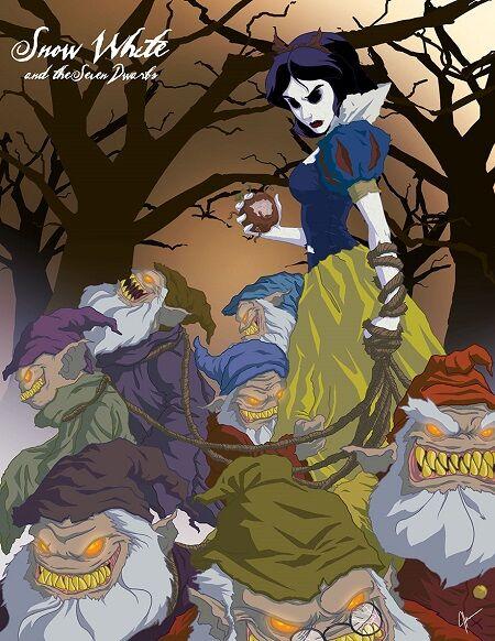 Disney Cantik Monster Menyeramkan 2
