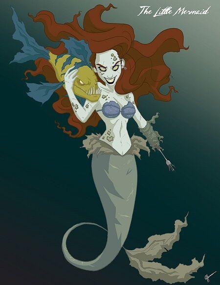Disney Cantik Monster Menyeramkan 5